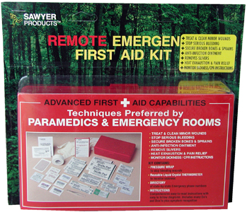 Remote Emergency First Aid Kit