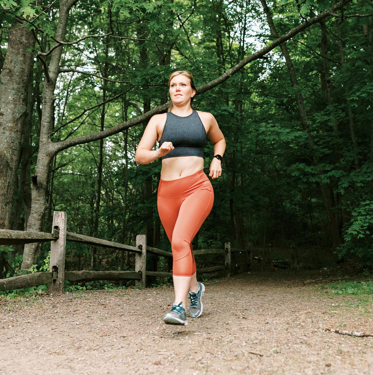 Katie Spots Ultra-Athlete