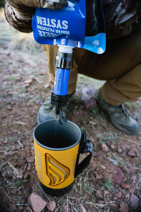 Go Hunt Squeeze-or-gravity-flow-water-filters