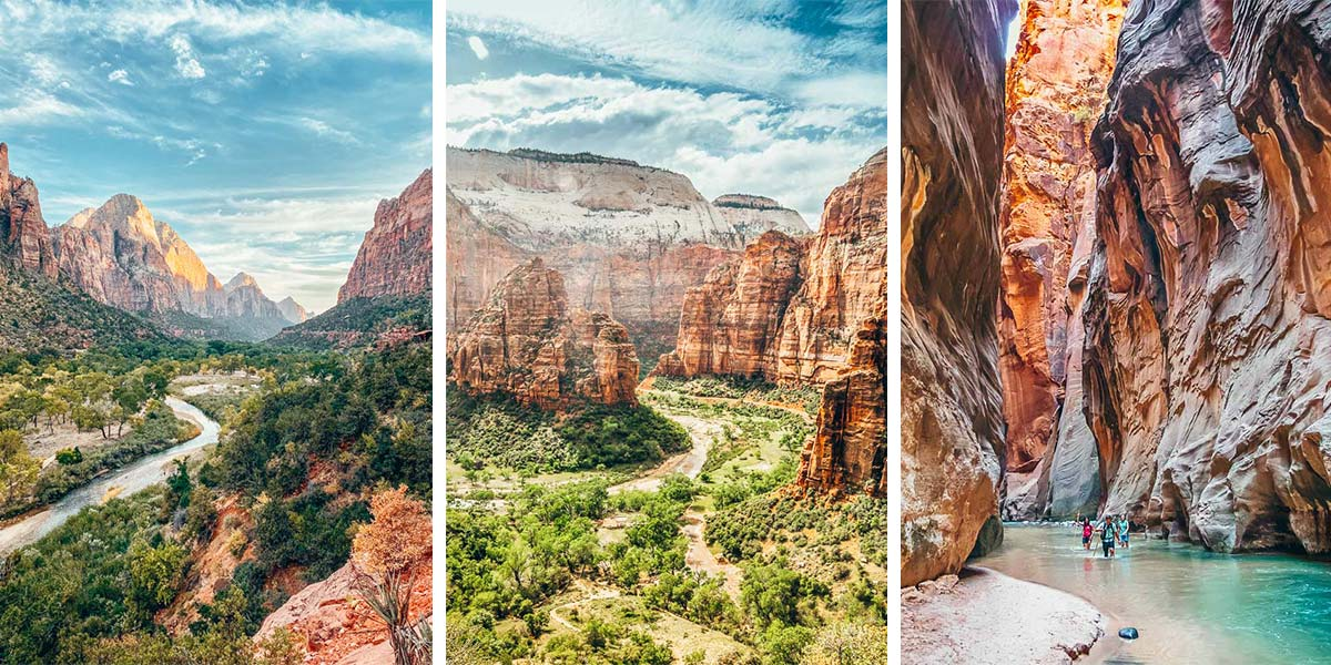 Hiking-in-Zion-National-Park-Utah