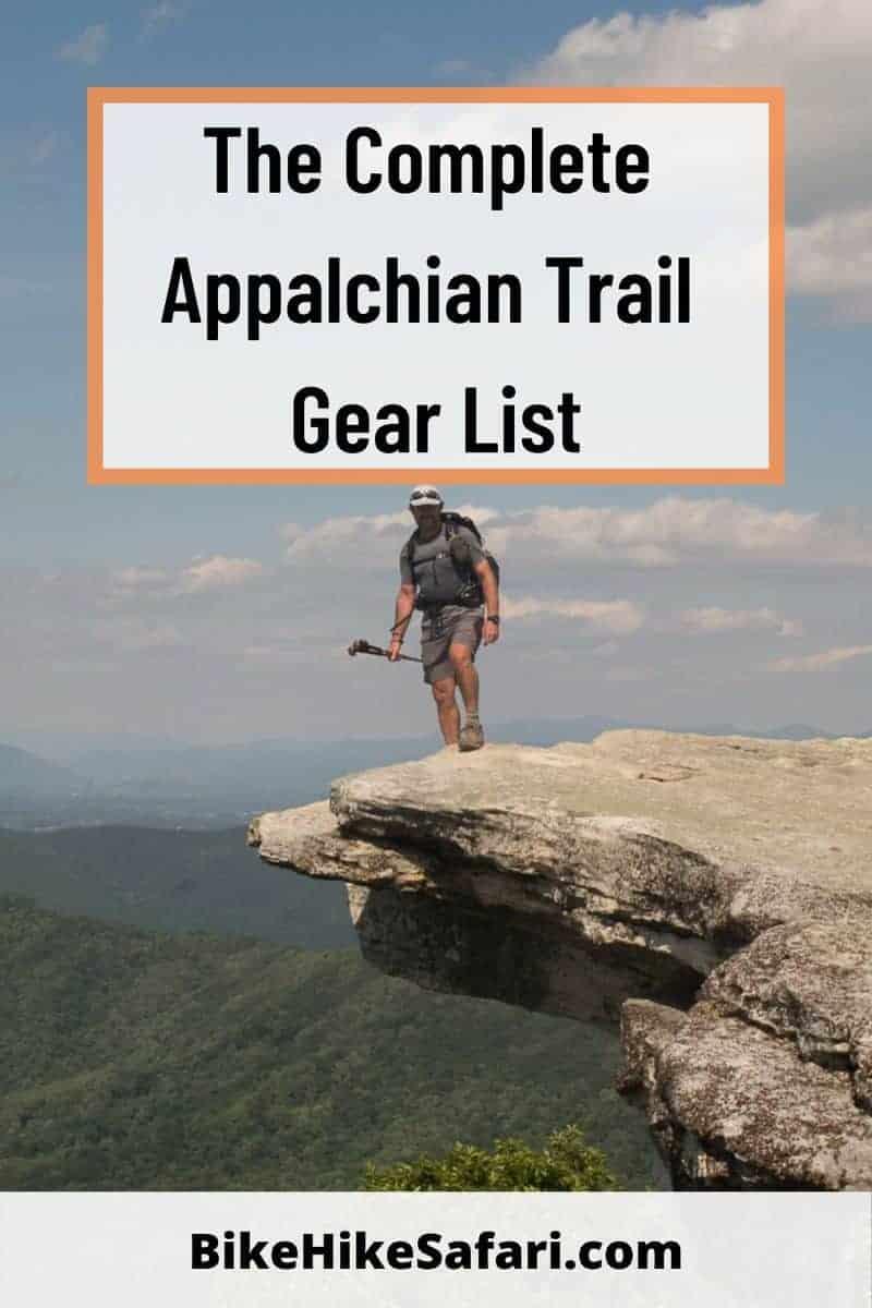 Appalachian-Trail-Gear-List