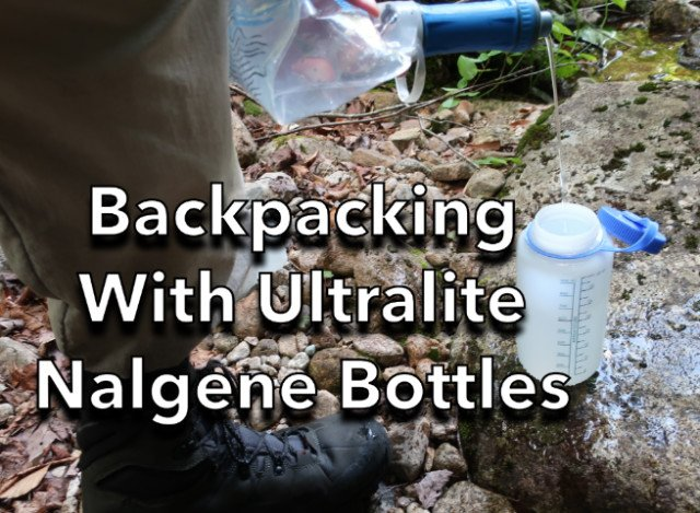 Backpacking-with-Ultralite-Wide-Mouth-Nalgene-Boittles