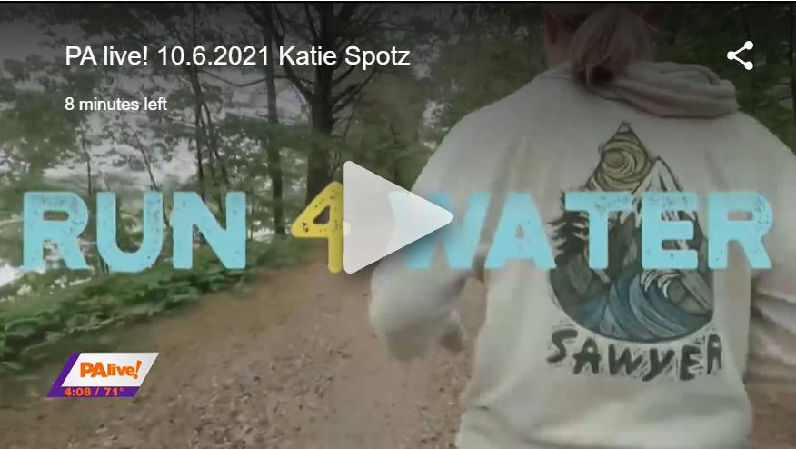Katie Spotz Running 11 Ultramarathons
