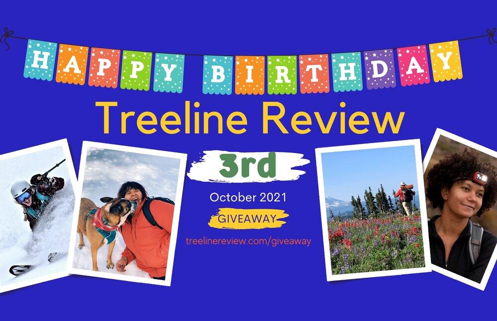 Treeline Review 3rd Birthday Giveaway - Happy Birthday