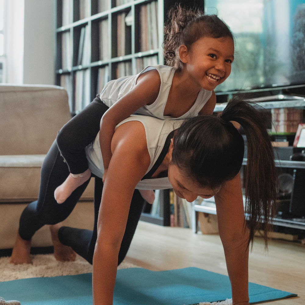Give This a Try: The 3 Most Effective Exercises for Parents Who Have No Time