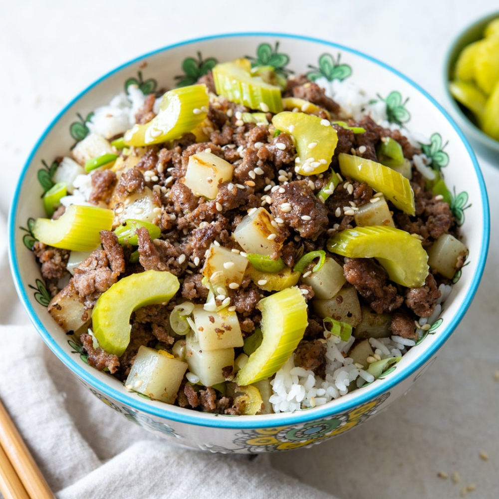 Jo's South Chinese Beef and Potato Bowl